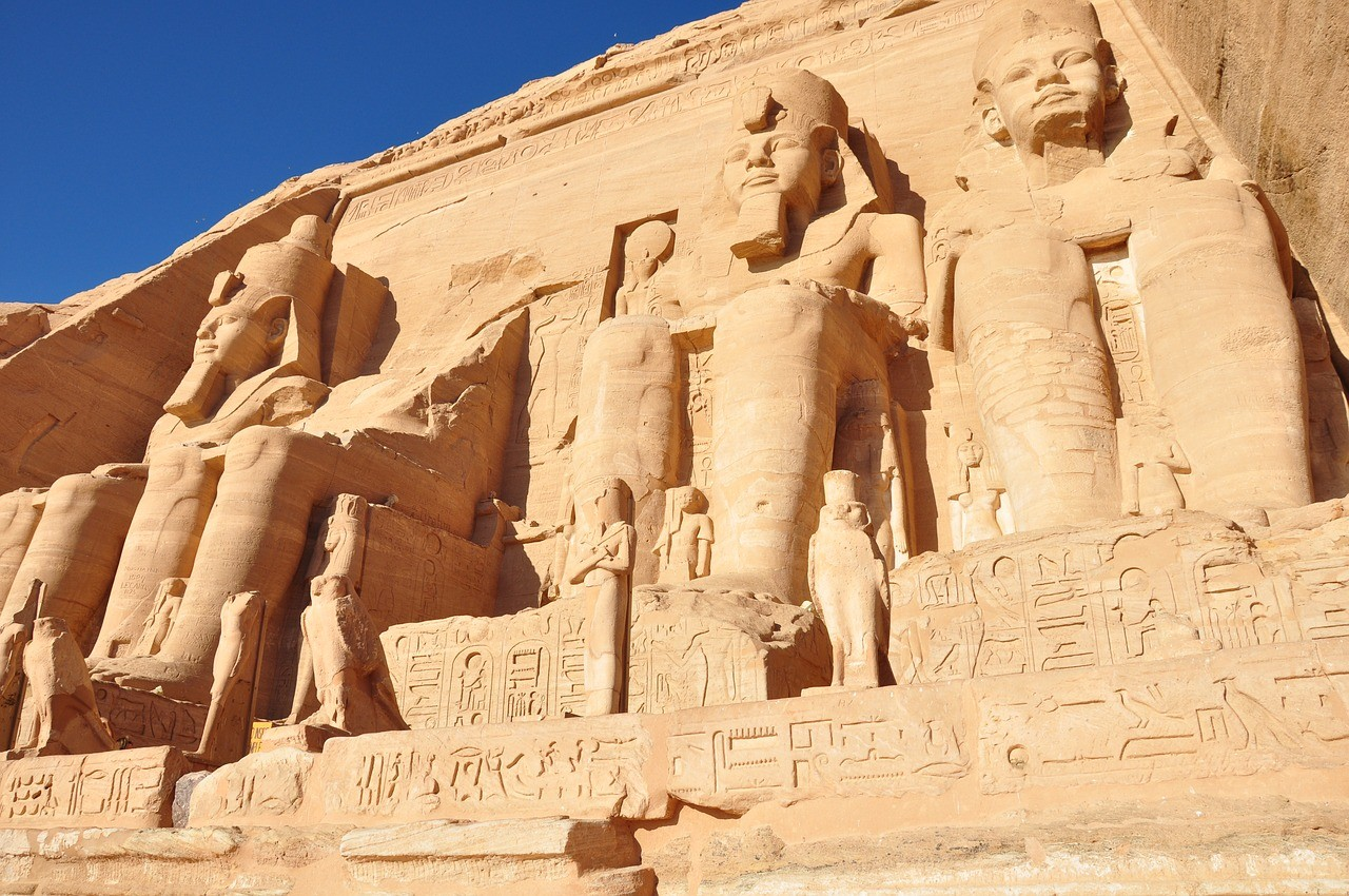 Абу симбел, Египет