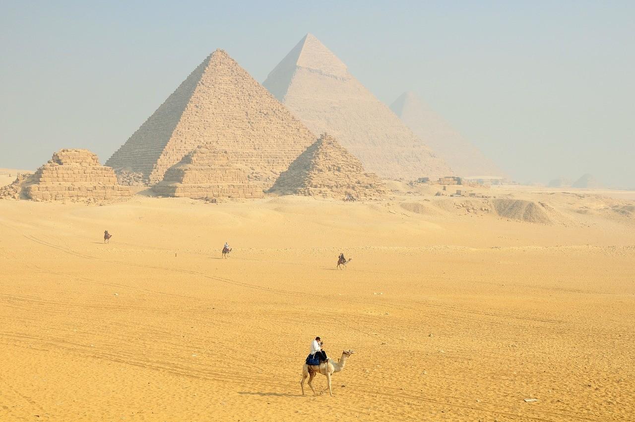 Сфинкс, Пирамиды, Египет