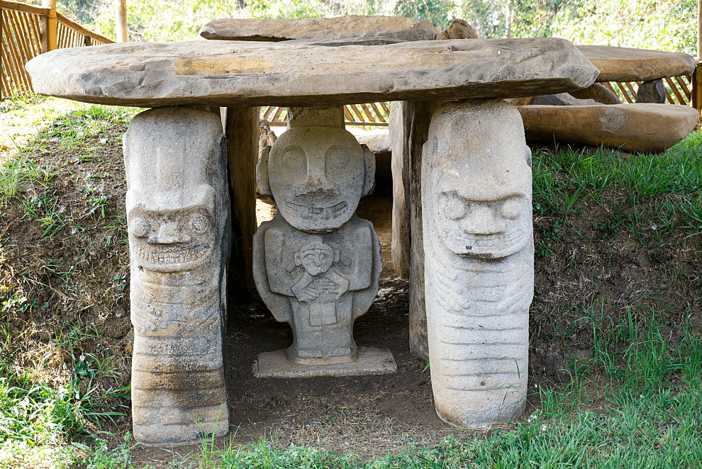 Археологический парк Сан-Агустин в Уиле, Колумбия