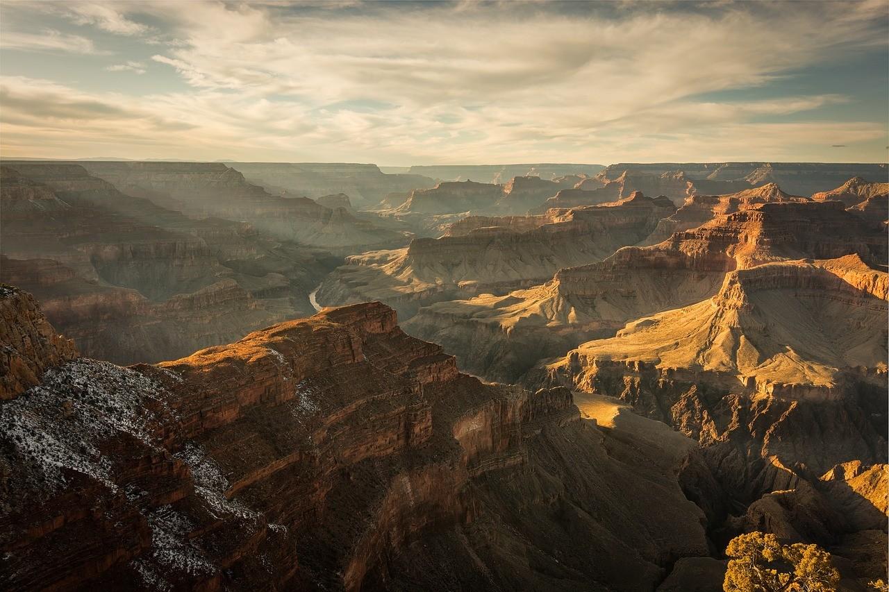 Большой Каньон, плато Колорадо, штат Аризона