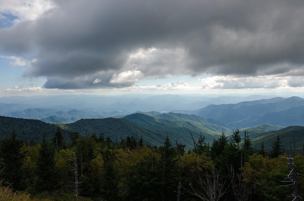 Грейт Смоки Маунтинс, Северная Каролина и Теннесси