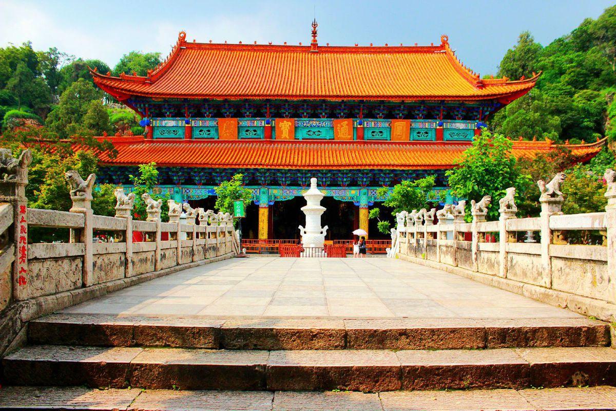 Храм Юаньтун, Куньмин, Китай