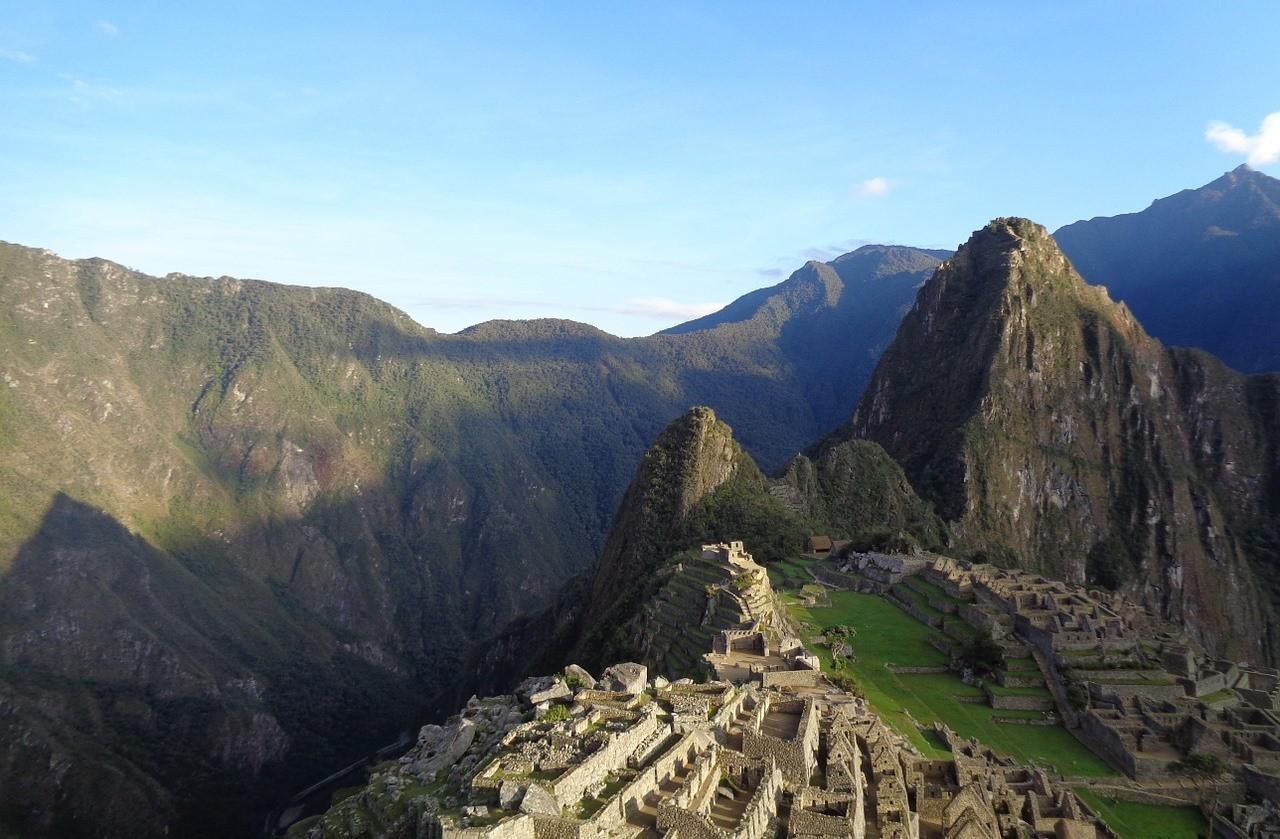 Мачу-Пикчу в Андах, Перу