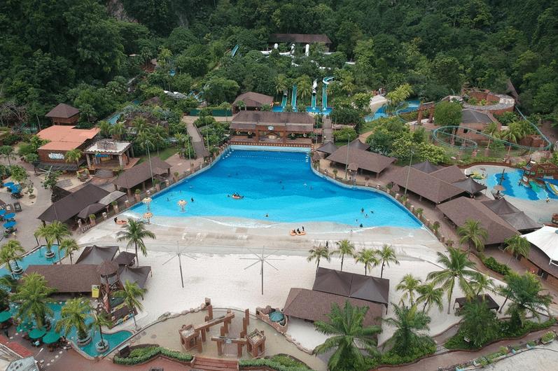 парк развлечений «Затерянный мир Тамбуна», Перак, Малайзия
