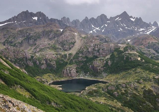 Диентес де Наварино, Чили, Патагония
