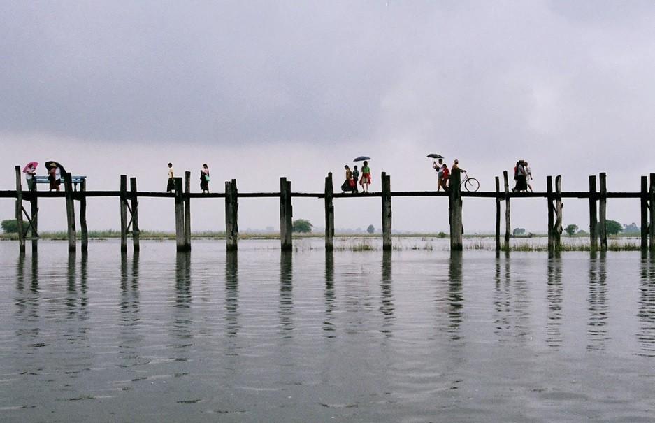 Амарапура и мост У-Бейн, Мьянма