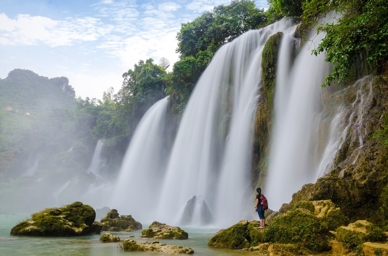 Бан Джок водопад, Каобанг, Вьетнам