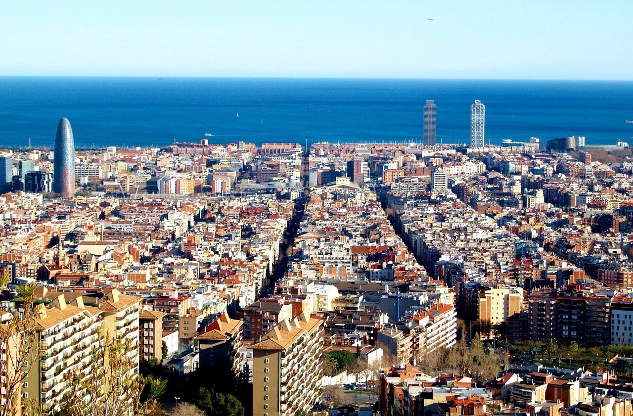 Барселона, панорамный вид