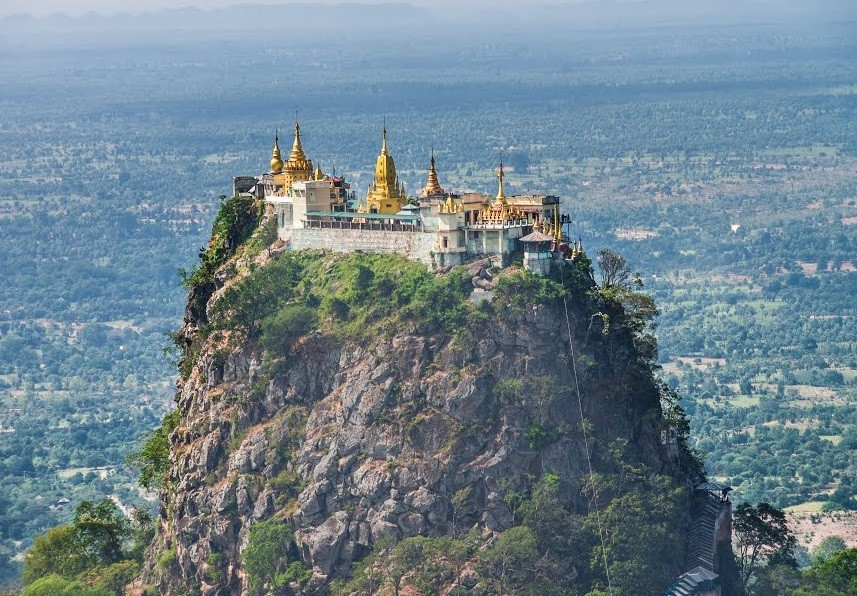 Гора Попа, Мьянма