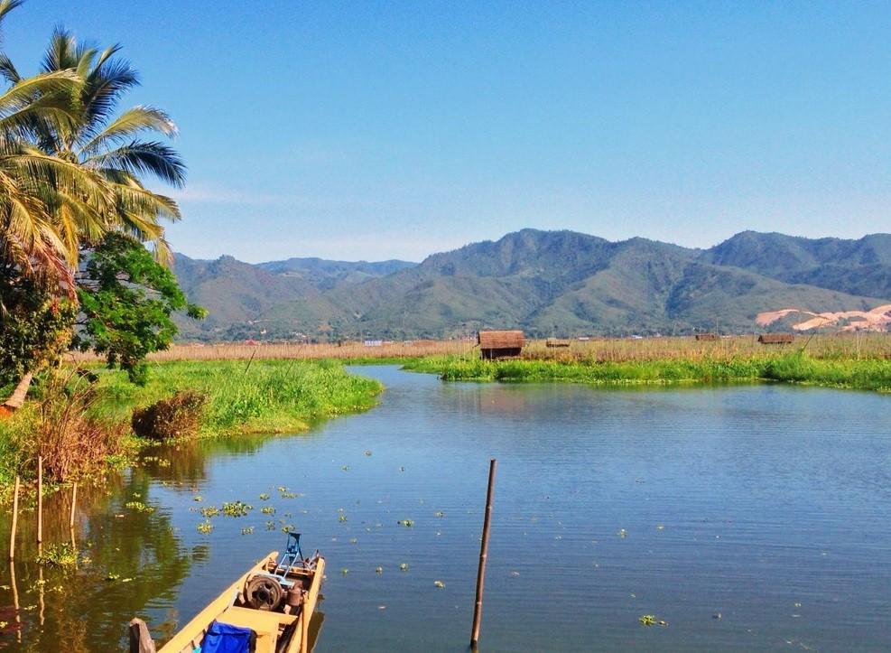 Озеро Инла, Мьянма