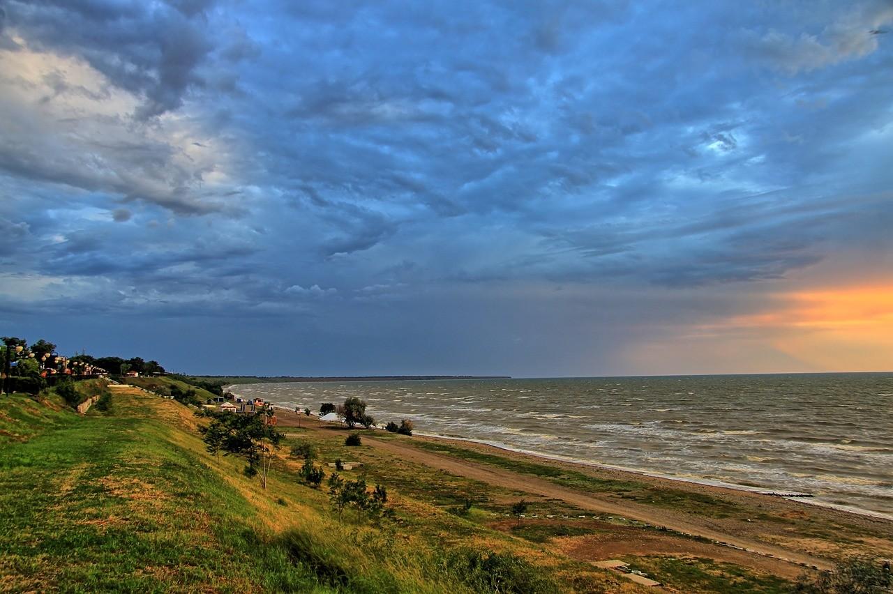 Ейск, Азовское море, Россия
