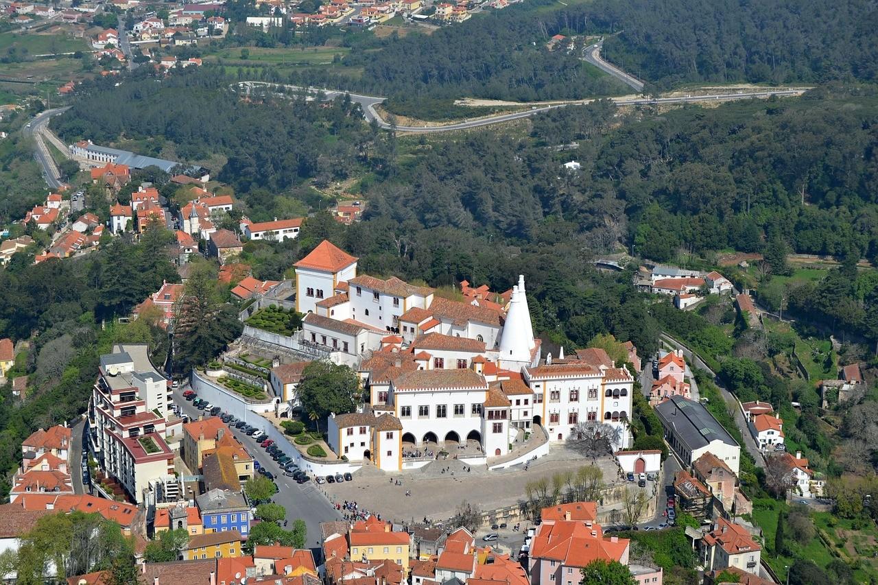 Национальный дворец Синтры, Синтра, Португалия