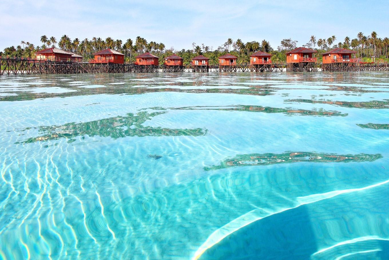 Остров Дераван, Калимантан, Индонезия