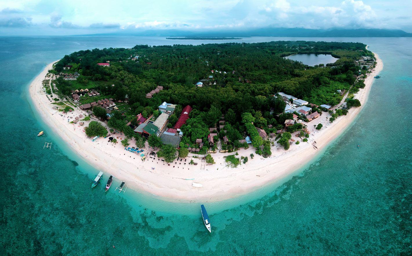 Остров Гили Мено, Индонезия