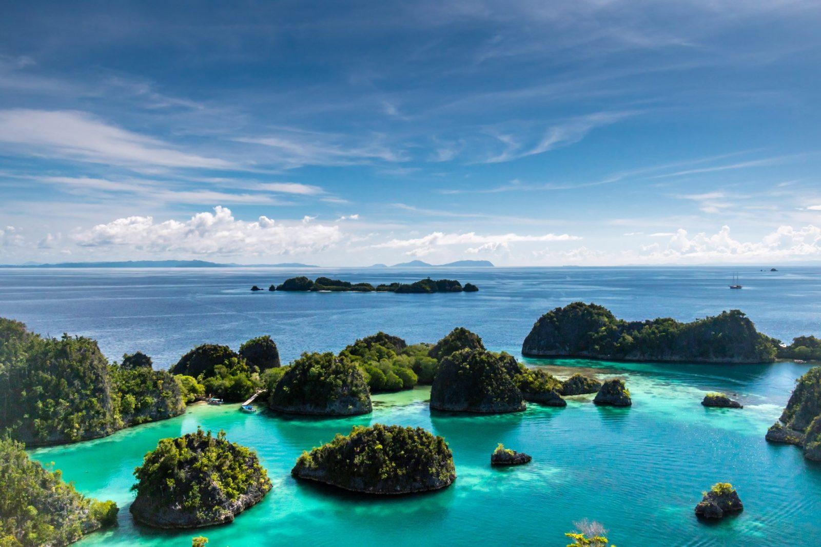 Остров Раджа Ампат, Папуа, Индонезия