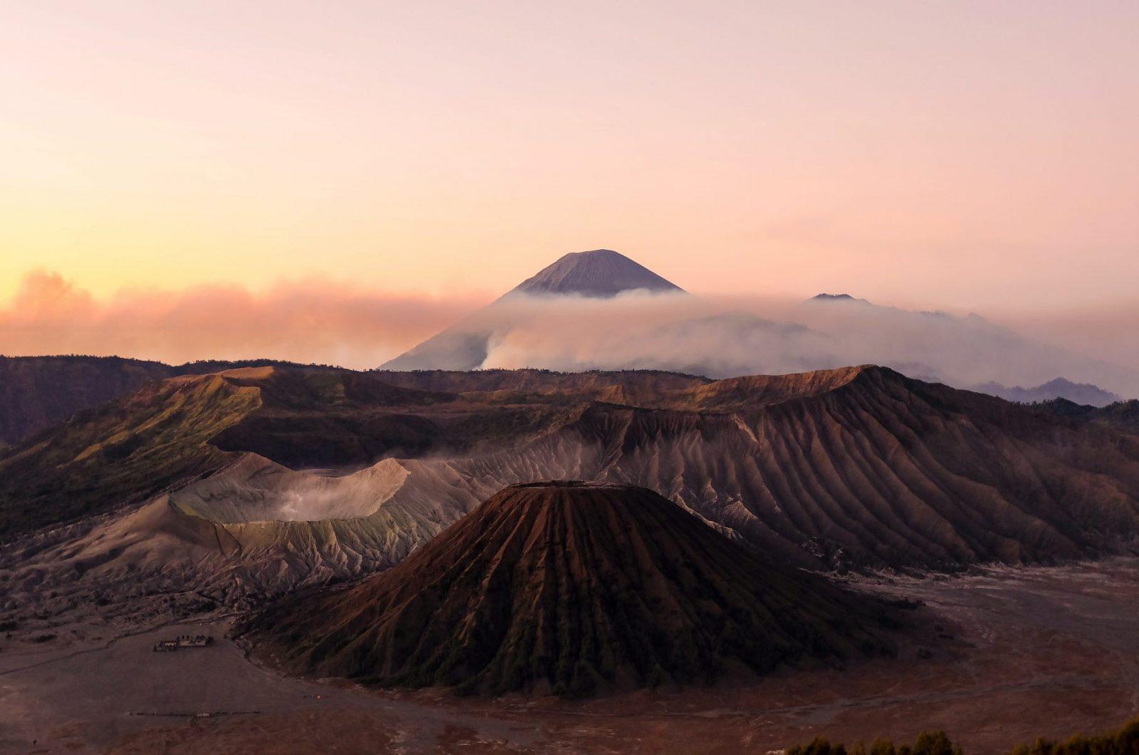 Остров Ява, Индонезия, вулканы Бромо