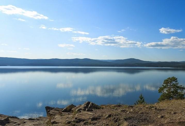 озеро Тургояк , Урал, Россия