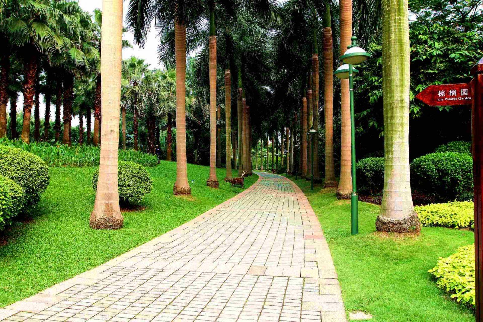 Парк Чжуцзян, ГУанчжоу, Китай