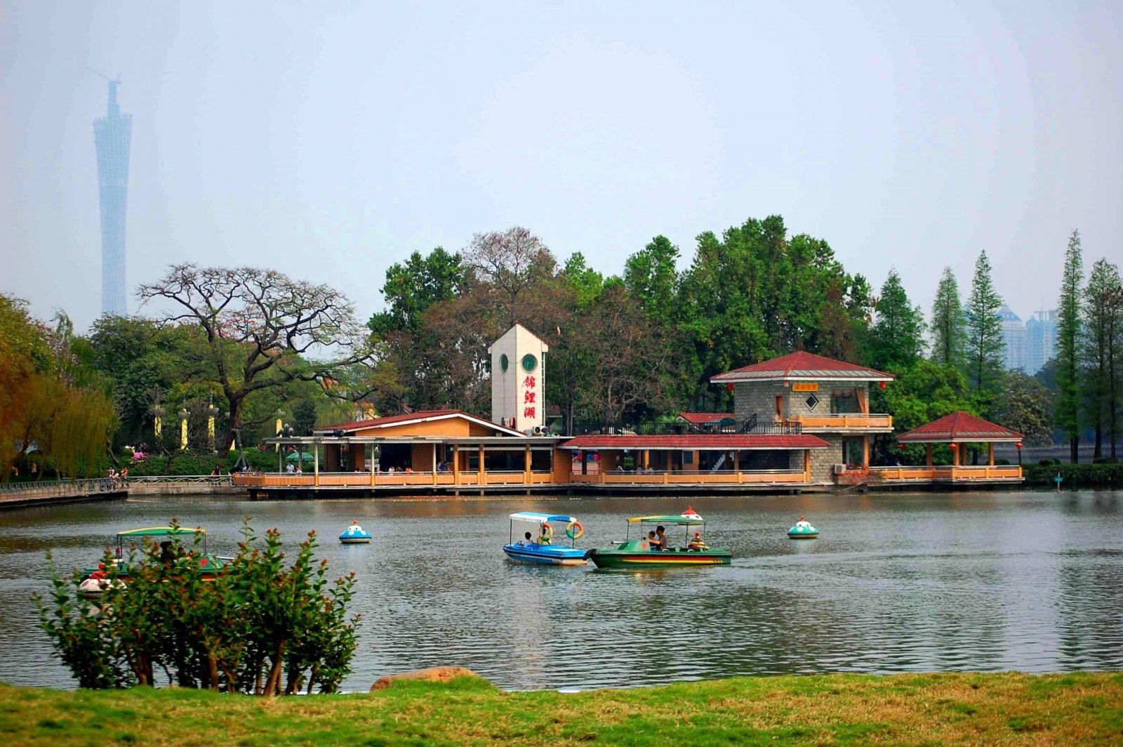 парк Дунхушань, Гуанчжоу, Китай