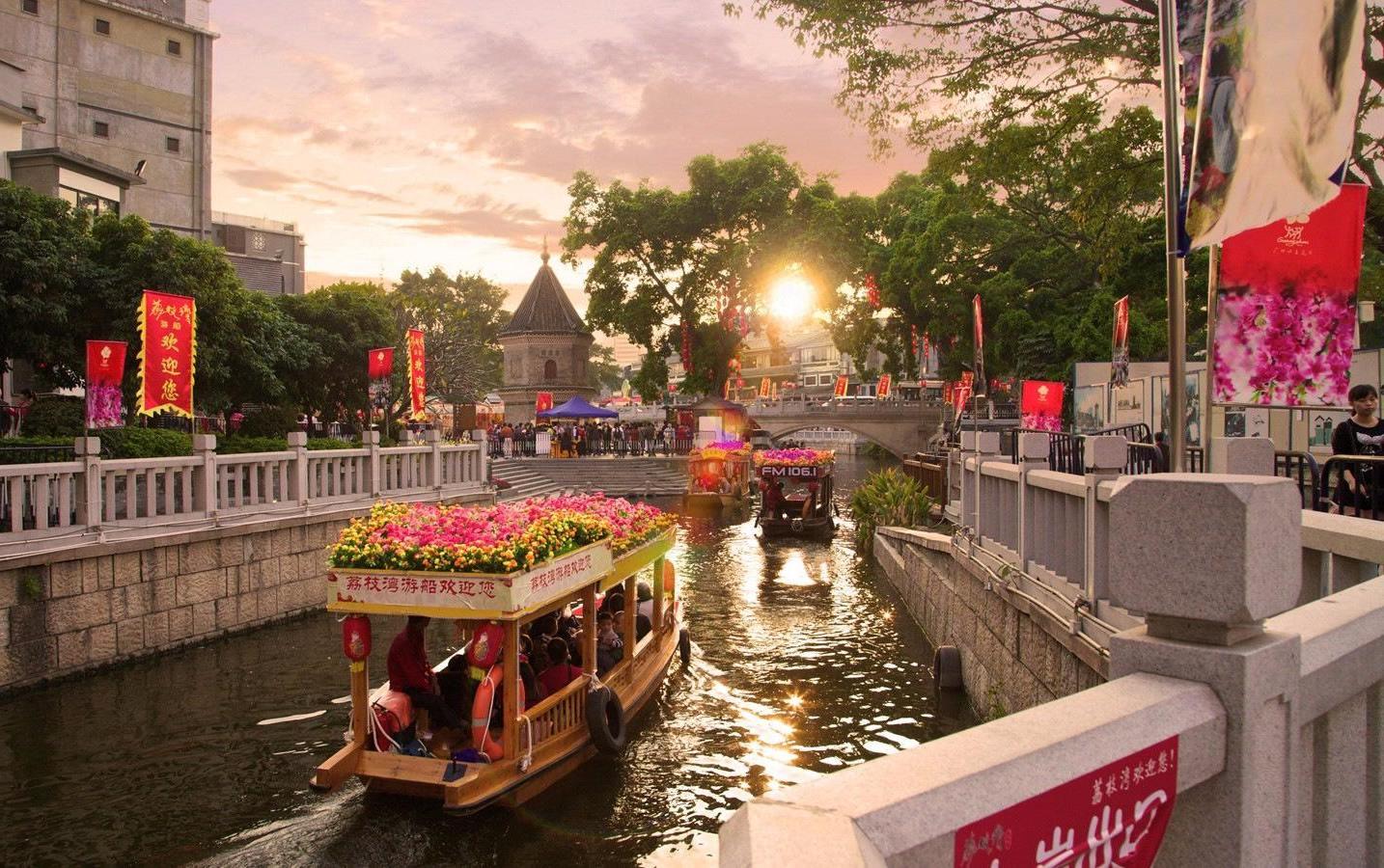 Парк Ливаньху, Гуанчжоу, Китай