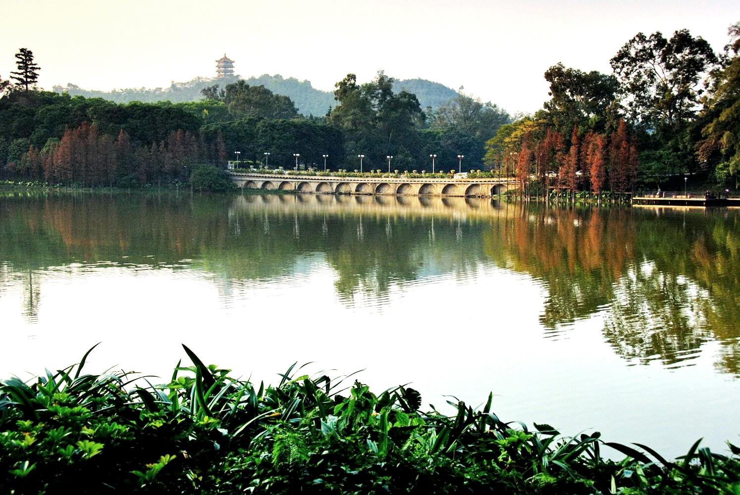Парк Луху, Гуанчжоу, Китай