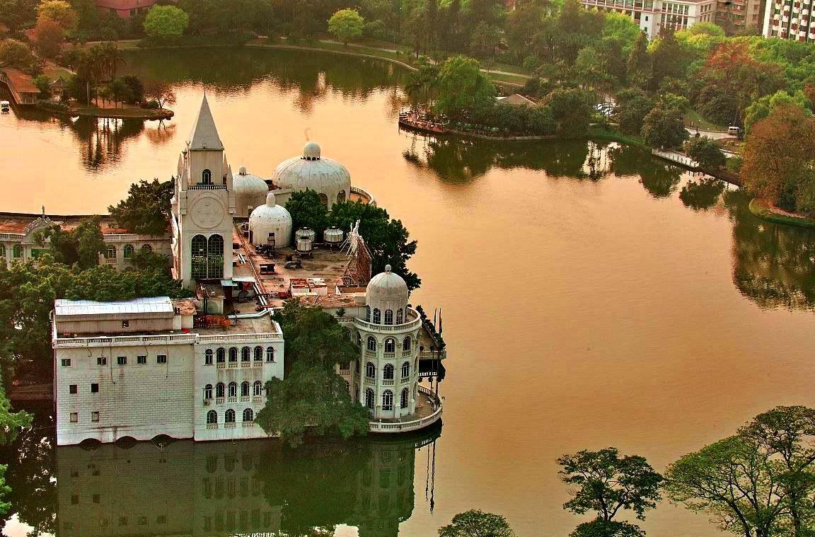 Парк Люхуаху, Гуанчжоу, Китай