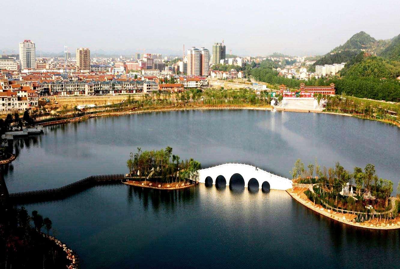 Парк Озера горы Байюнь, Гуанчжоу, Китай