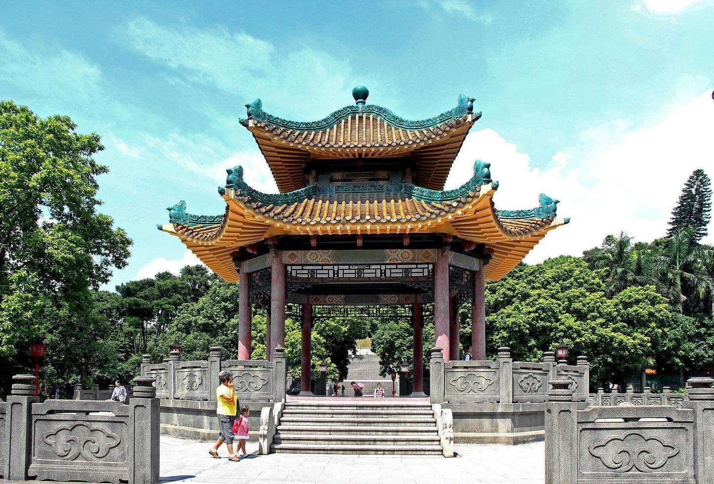 Парк павших героев, Гуанчжоу, Китай