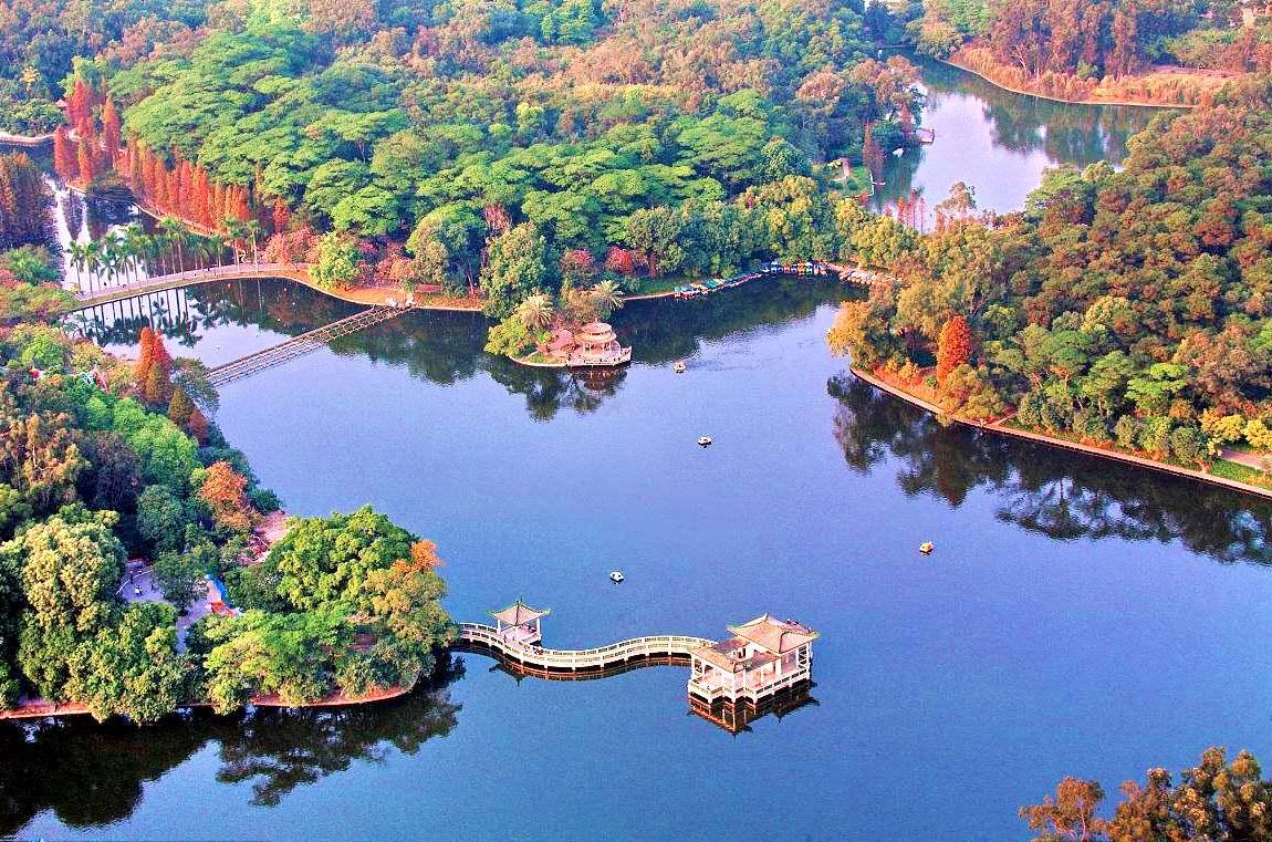 Парк Теньхэ, Гуанчжоу, Китай