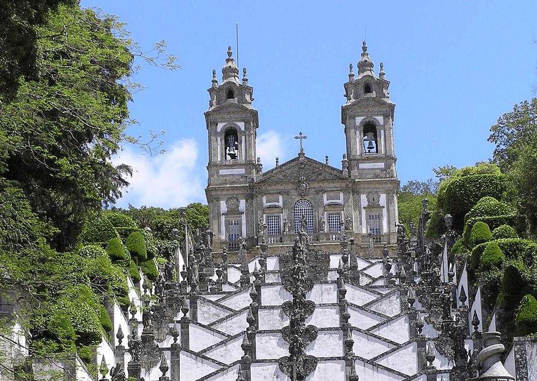 Санктуарий Бон-Жезуш-ду-Монте, Брага, Португалия