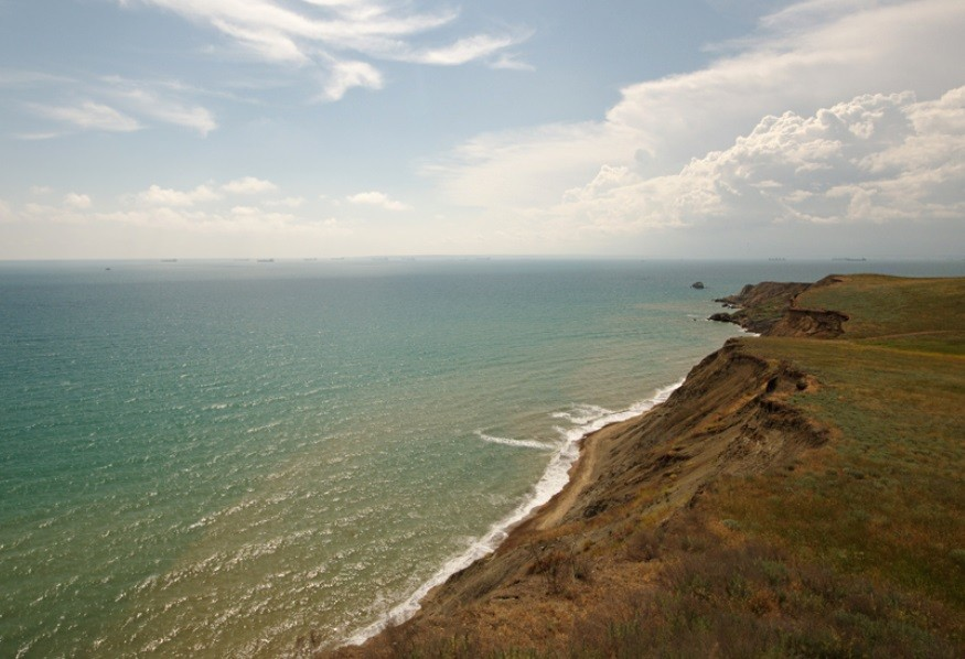 Тамань, Азовское море, Россия
