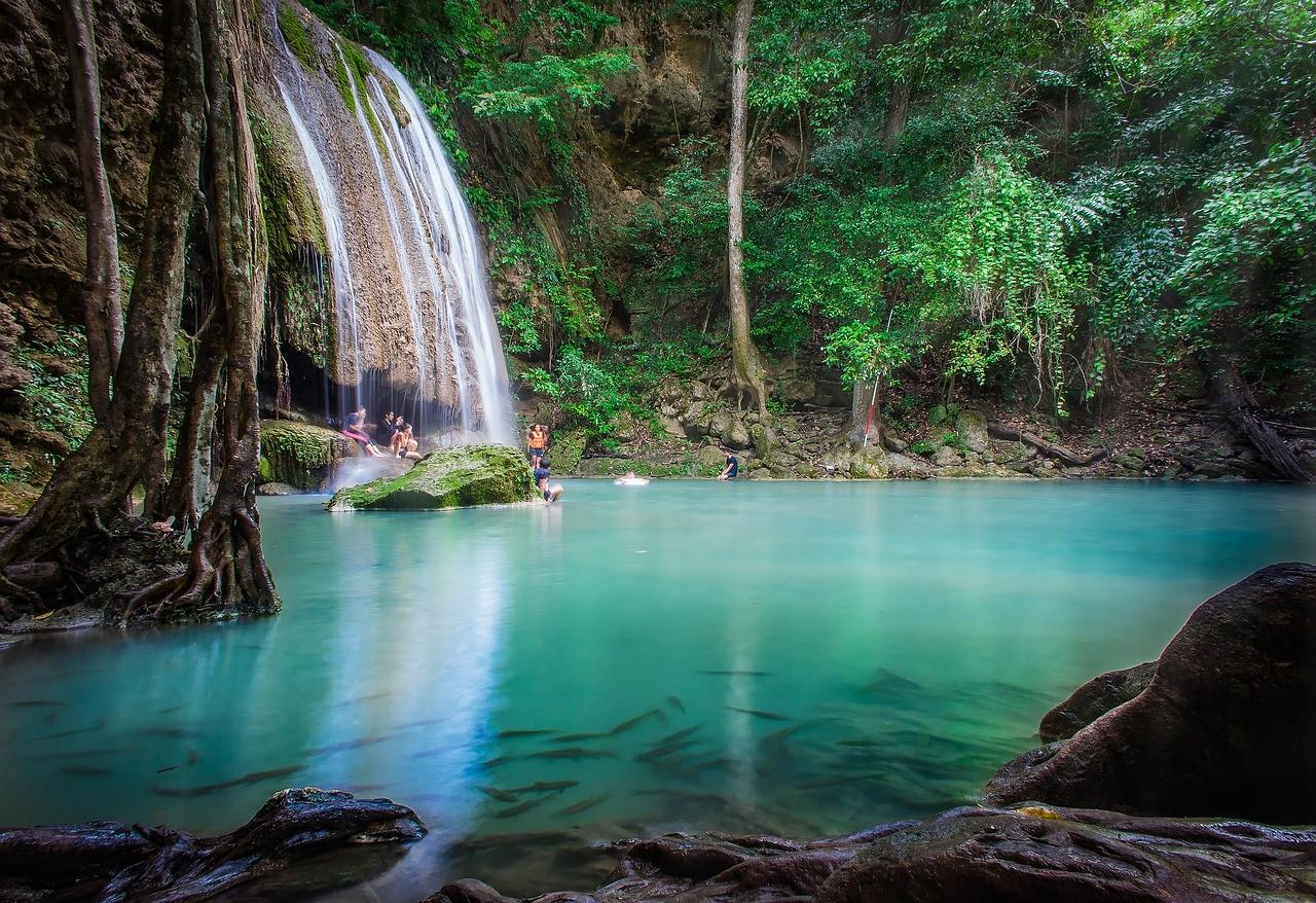Водопад Эраван, Таиланд