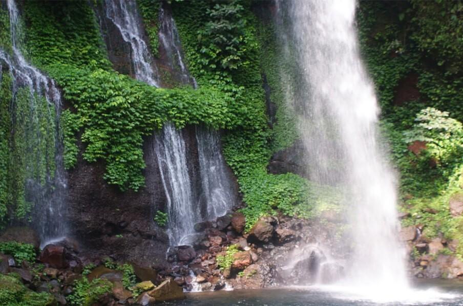 водопады Батурадена, Индонезия, остров Ява