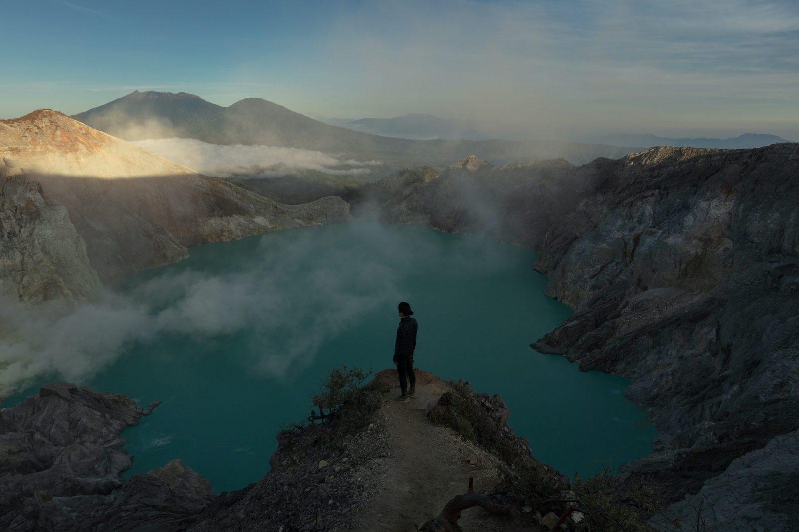 Вулкан Иджен, Ява, Индонезия