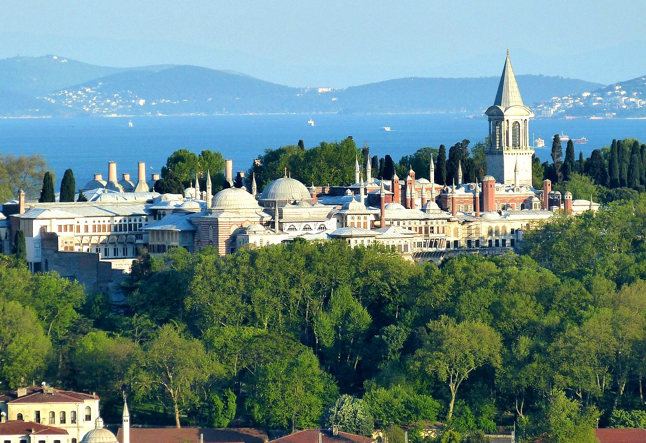 Дворец Топкапы в Стамбуле, Турция