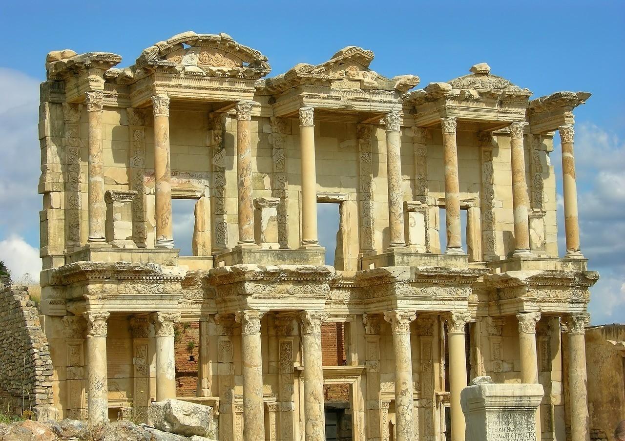 город эфес, турция