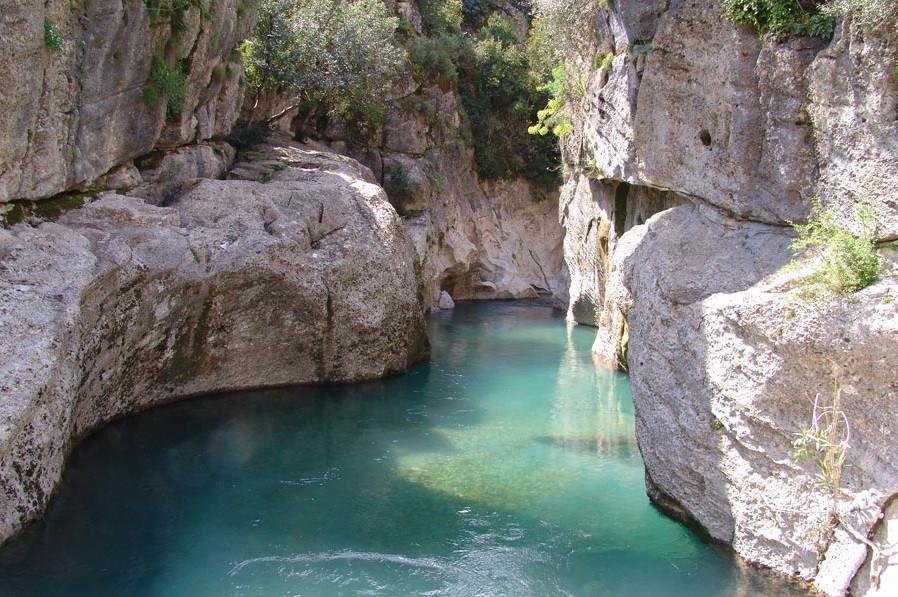Каньон Кёпрюлю, Турция
